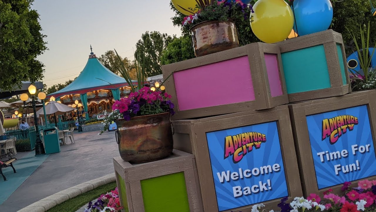 Adventure City - Small Fun Family Theme Park (with a Cool Roller Coaster)
