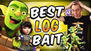 The ONLY Viable Log Bait Deck — Clash Royale