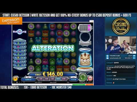 BIG WIN!!!! Reactoonz Big win - Casino - Bonus Round (Online Casino)