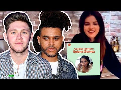 """SELENA GÓMEZ Sorprende Mostrando Públicamente Su APOYO A Dos De Sus """"EX"""" Niall Horan Y The Weeknd!"""