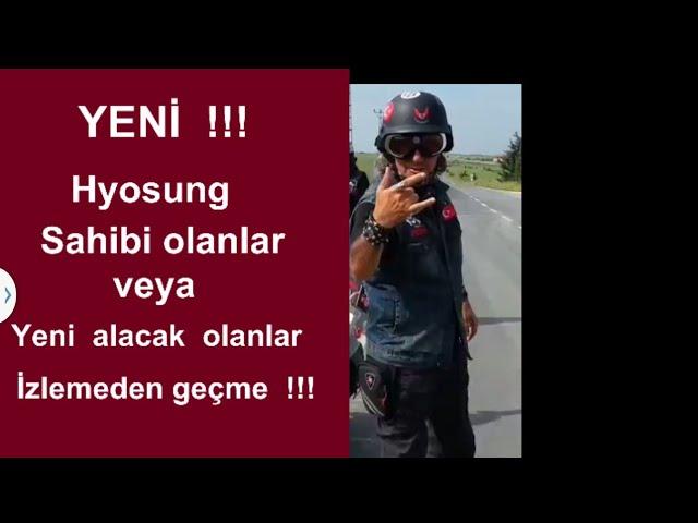 Hyosung motosiklet ARIZA KODU NASIL BULUNUR? ...