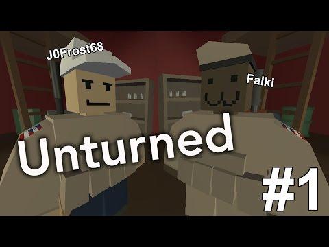 Unturned - Ep.1 : Houdini !  - Coop J0Frost68 et Falki - FR