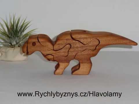 3D hlavolam Hadrosaurus