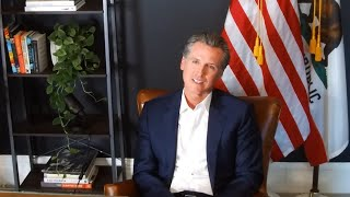 Gavin Newsom Discusses Recall Election Issues With California Opinion Editors