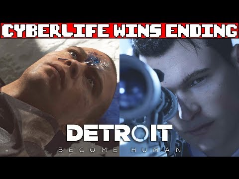DETROIT BECOME HUMAN Cyberlife Wins Ending