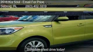 2016 Kia Soul + 4dr Wagon for sale in Sebring, FL 33870 at A