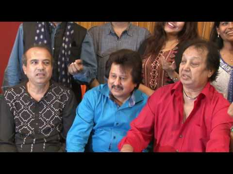 Pankaj Udhas,Suresh Wadkar & Other Singers At Rehearsal For Khazana Ghazal Festival 2