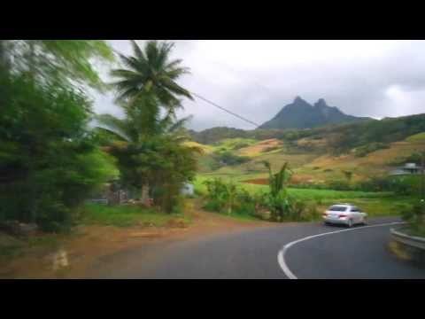 Driving through the South-Eastern Coast - Mauritius