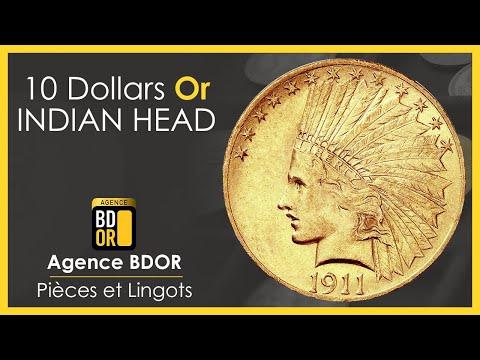 10 Dollars Tête d'Indien - Gold Eagle - Achat Vente - Agence BDOR