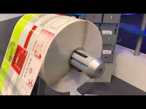 CARTES GT369WSSHSSHRH @ LABELEXPO 2019 - Machine To Produce Self-adhesive LABELS