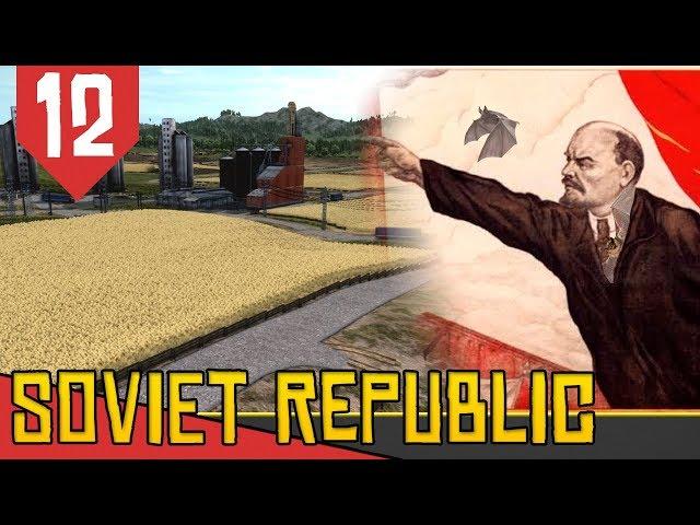 COMIDA no COMUNISMO?! - Workers and Resources Soviet Republic #12 [Série Gameplay Português PT-BR]