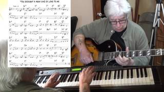 You Brought A New Kind Of Love To Me - jazz guitar & piano cover - Yvan Jacques