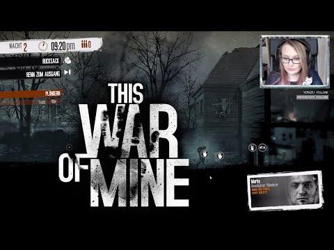 Unsere Erste Nacht #03 THIS WAR OF MINE • Let's Play [Facecam]