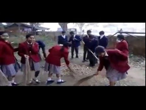 Mount View School Dimna Road Jamshedpur Activity Swachh Bharat Mission