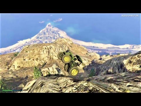 GTA V PS4 CAIDAS DESDE EL MONTE CHILIAD CON MOTOS Y ESPECIALES