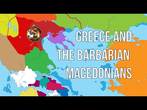 Philip II -02 | Greece and the Barbarian Macedonians