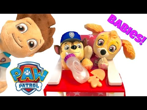 Thumbnail: Best Learning Colors Video for Children - Baby Paw Patrol Pups Skye and Chase