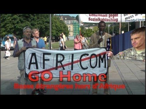 AFRICOM GO HOME: Alle ausländischen Militärbasen, raus aus Afrika!