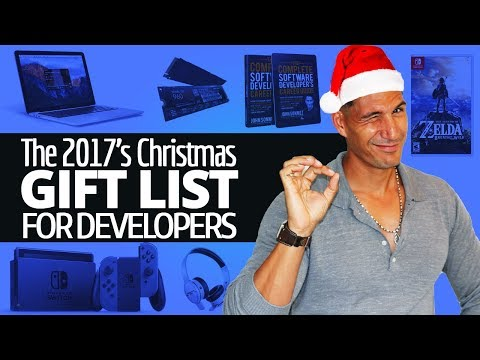 The 2017's Christmas Gift List For Software Developers (And Other Tech Geeks)