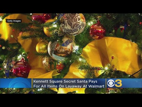 Dana McKenzie - A Secret Santa Pays Off Close To $29K Of Layaway At Walmart