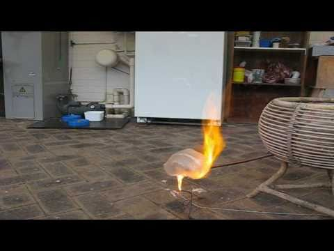 Playing With Hydrogen (Bottle Rocket)
