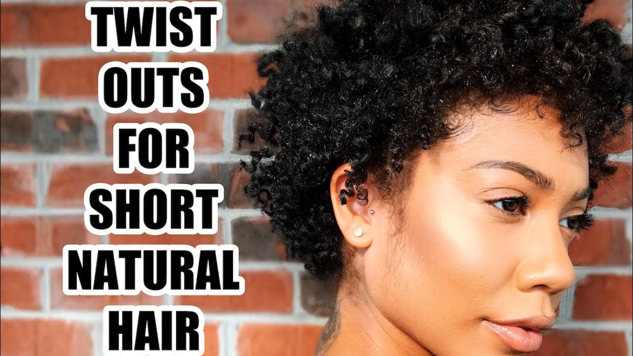 Twist Outs For Short Natural Hair Beginner Friendly Youtube