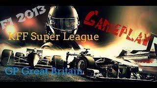 F1 2013 Online Gameplay British GP