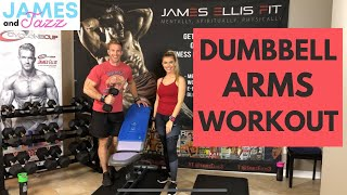 Dumbbell Arms Workout || Arms Workout Using Dumbbells || Tone Up || Build Muscle || Versa Gripps