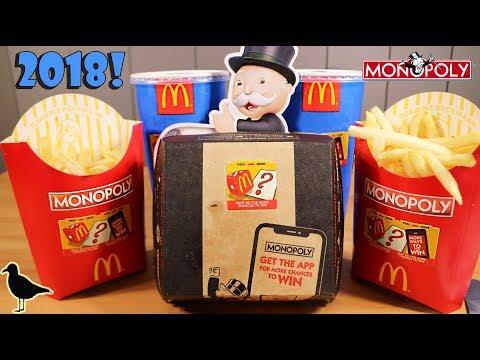Australian McDonald's Monopoly 2018 Sticker/Token Opening + Mobile App | Birdew Reviews