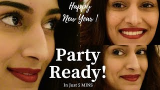 Party ready in 5 mins | Makeup Tutorial | Erica fernandes