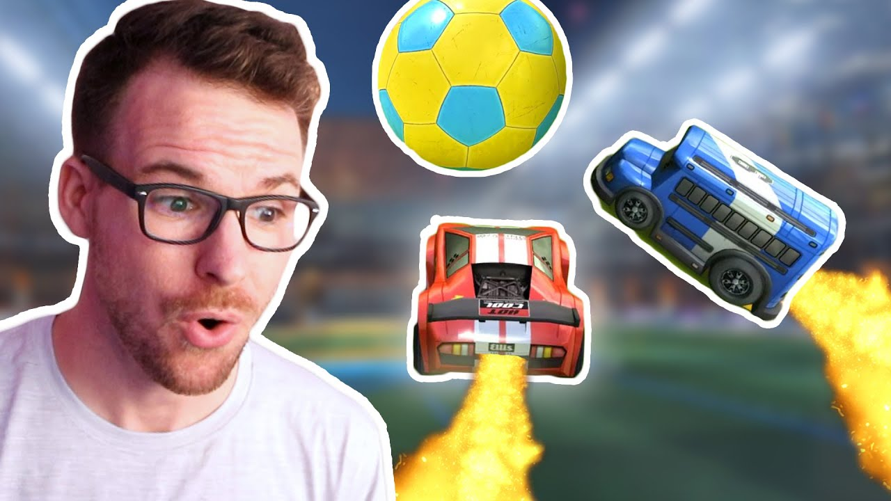 Someone made a new version of Rocket League and it's surprisingly good...