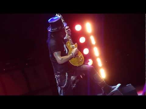 Slash – Anastasia @ HMV Hammersmith Apollo 6. June 2012