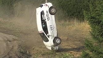 Riihivuori Ralli 2017, Muurame (crashes & action)