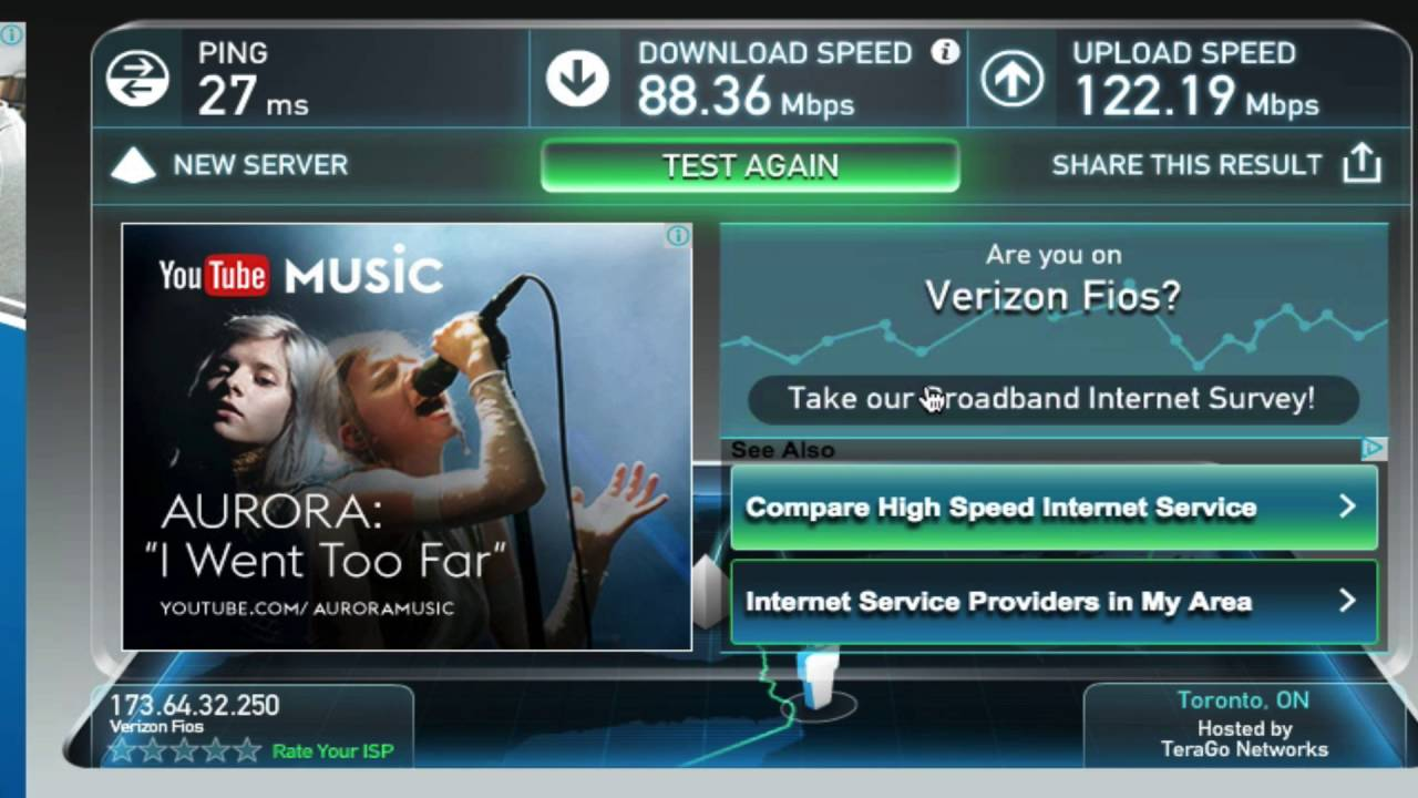 Fios gigabit internet users — what download speed are you really.