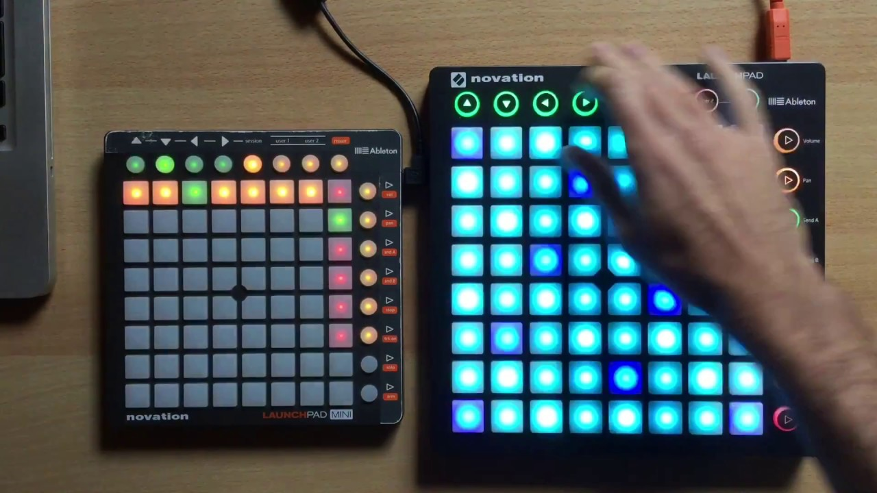 novation launchpad mk2 and mini like ableton push youtube