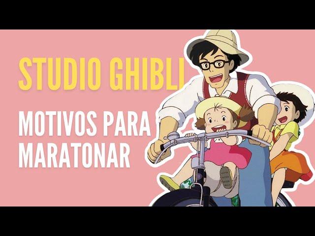 motivos para maratonar os filmes do Studio Ghibli