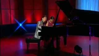 Annie and Lang Lang - Schubert Marche Militaire Duet