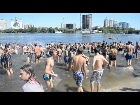 Water Battle in Kyiv 01.08.2015