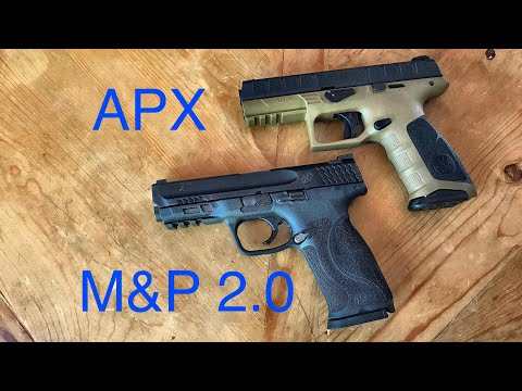 Smith & Wesson M&P 2 0 vs Beretta APX - If I Could Only Have One...