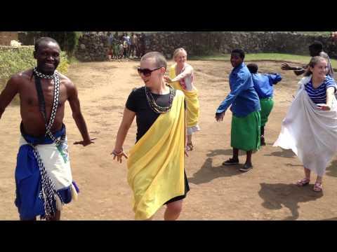 JRC Dancing in Rwanda