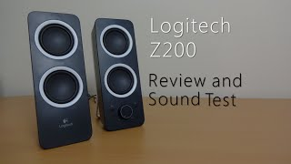 logitech Z200 review and sound test