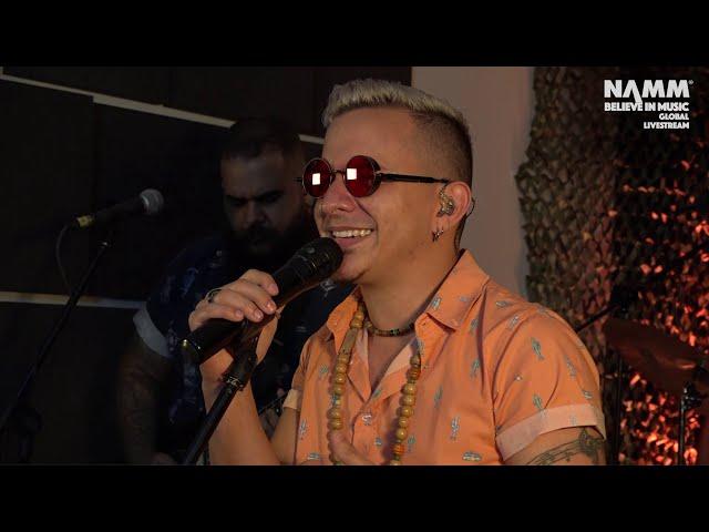 Omar Quezada & Los Supertucanos - The NAMM Show 2021
