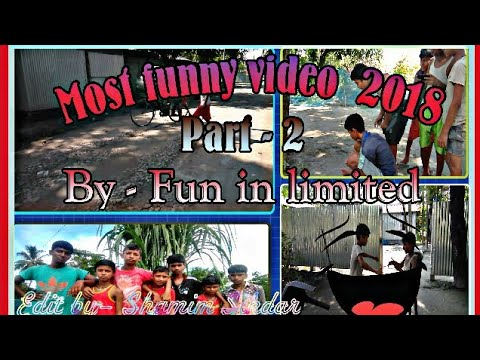 Most funny video 2018l Part-2  by FUN IN LIMITED  try to laugh