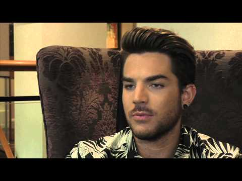 Adam Lambert interview (part 1)