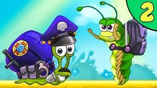 Несносный УЛИТКА БОБ 3. Серия 2. Игра Snail Bob 3 на канале Игрули TV