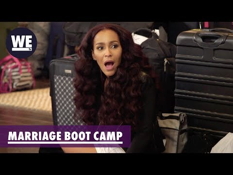 Peter & Amina's Meltdown | Marriage Boot Camp: Reality Stars | WE tv