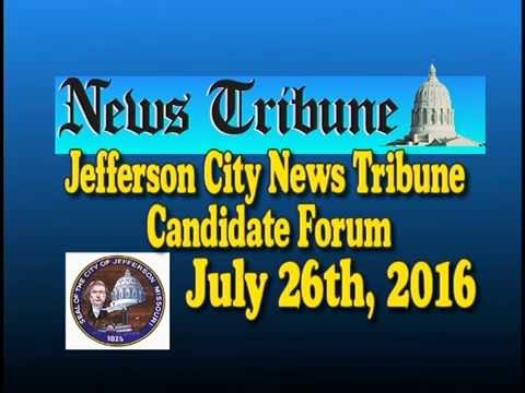 Jefferson City News Tribune Sheriff Candidate Forum Jul 26 2016