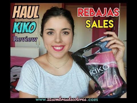 HAUL KIKO - Compras KIKO junio 2017 rebajas sales | 22sombrasdecolores