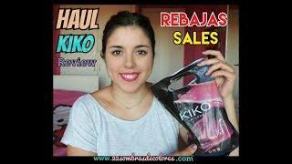 HAUL KIKO - Compras KIKO junio 2017 rebajas sales   22sombrasdecolores