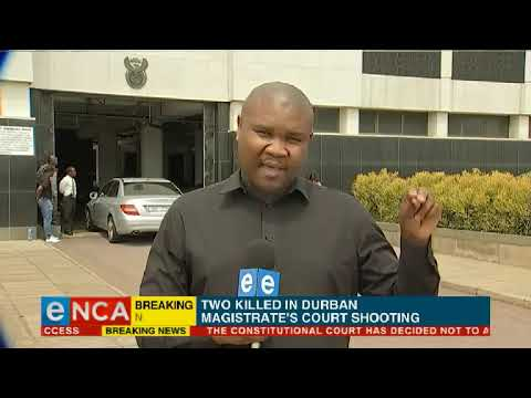 Two killed in Durban court shooting